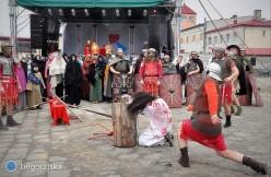 Zobacz co działo się na biłgorajskim targowisku