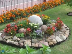 Ogrodowe piękności na dożynkach