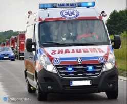 Czad wmieszkaniu. 77-latek trafił do szpitala