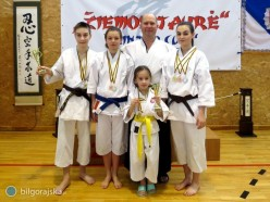 Udany start biłgorajskich karateków na Litwie