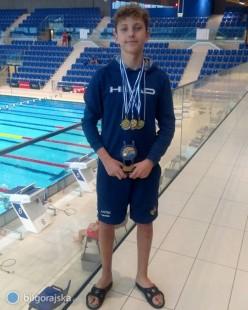 Kolejne udane występy biłgorajskich pływaków