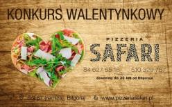 Wygraj pizzę wkształcie serca na Walentynki