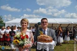 Gmina Łukowa dziękowała za plony irolniczy trud [NOWE ZDJĘCIA]