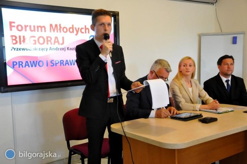 Biłgorajskie Forum Młodych PiS wznowiło działalność