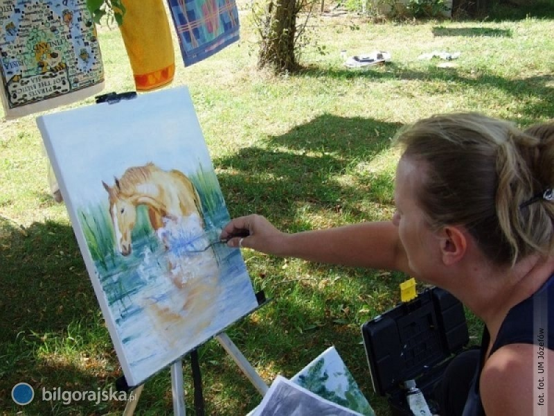 Plenerowe malowanie wGórecku