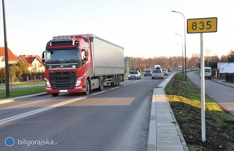 Przepychanka zZDW. Ciężarówki jednak nie pojadą przez miasto?