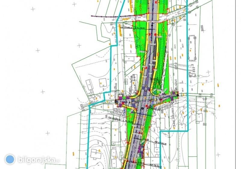 Planowana jest przebudowa drogi krajowej nr 74