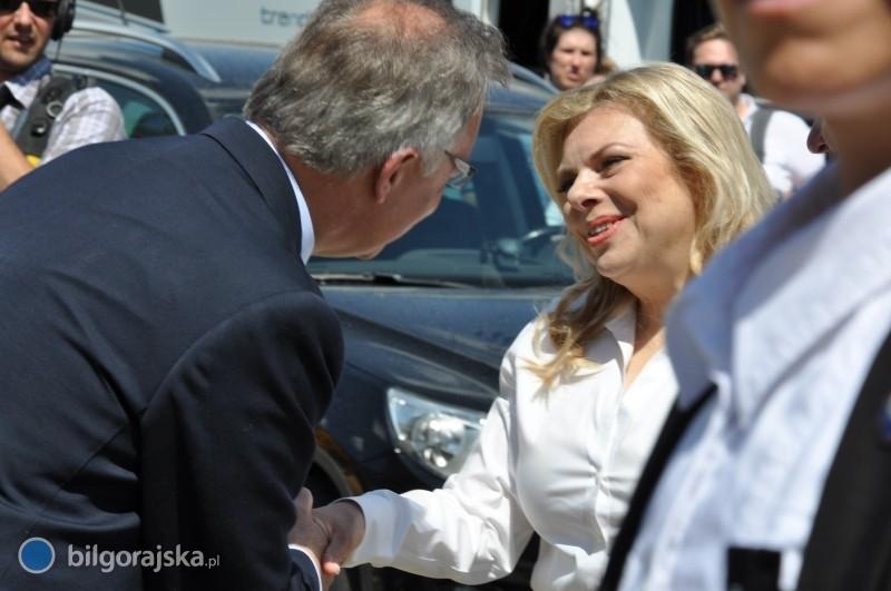 Sara Netanjahu, żona premiera Izraela odwiedziła Tarnogród iBiłgoraj