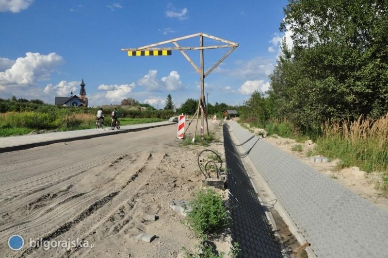 Trwa budowa ul. Nowakowskiego