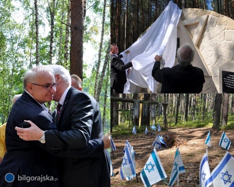 Uczcili pamięć pomordowanych Żydów