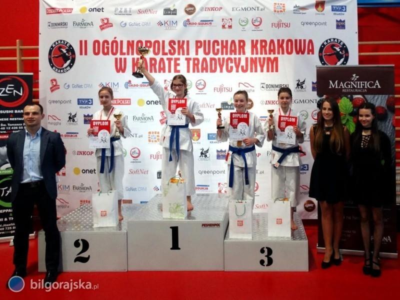4 medale dla biłgorajskich karateków