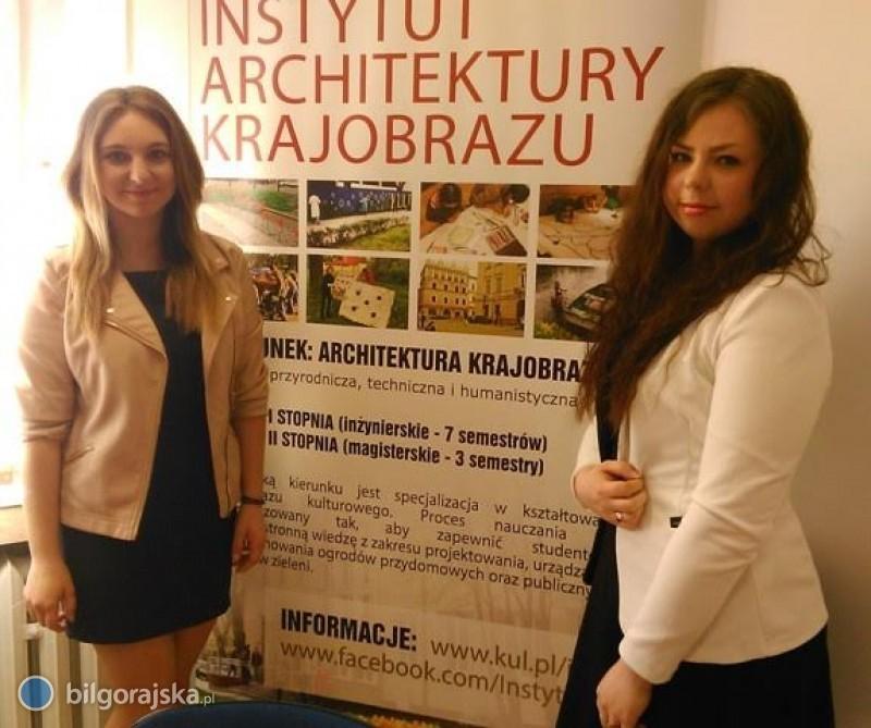 Uczennice ZSZiO zindeksami na Architekturę Krajobrazu KUL
