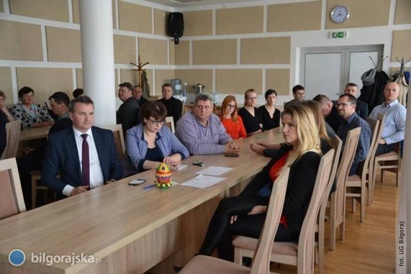 I spotkanie konsultacyjne wsprawie LPR gminy Biłgoraj