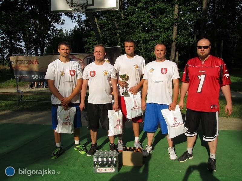 Slam Drinkers Biłgoraj na II miejscu Korona 3x3 Kielce Open