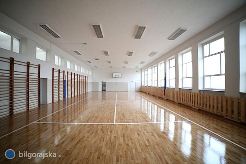 Sala gimnastyczna zprawdziwego zdarzenia
