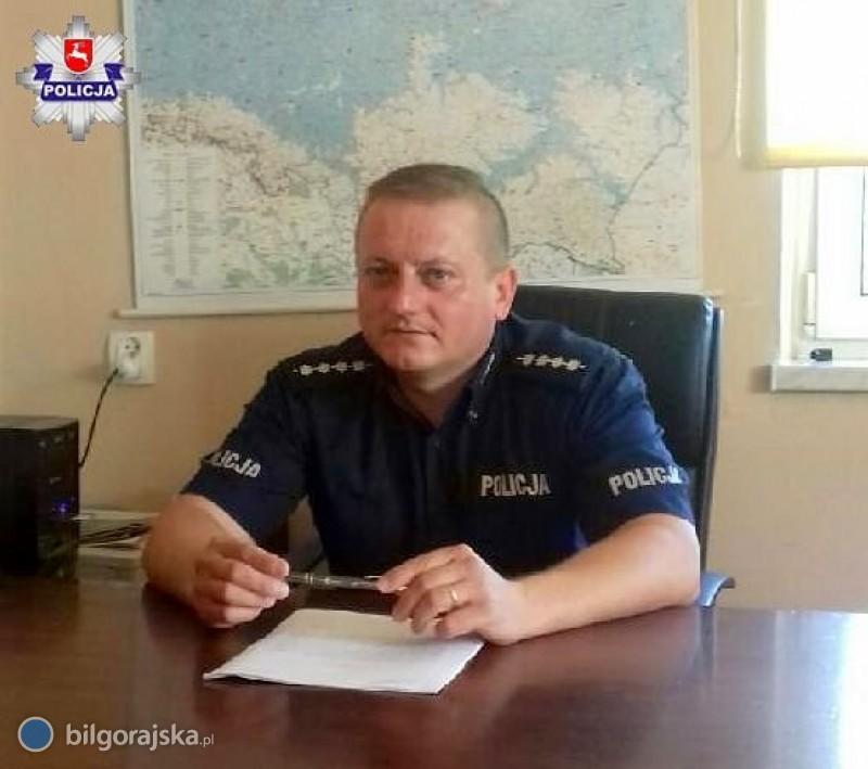 Policjant zawsze czujny