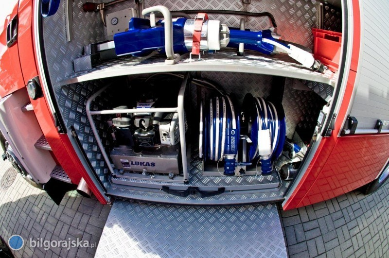 Strażacy lepiej wyposażeni