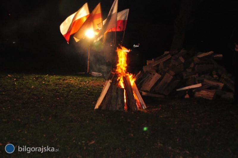 """Zapłonął """"Ogień Niepodległości"""""""