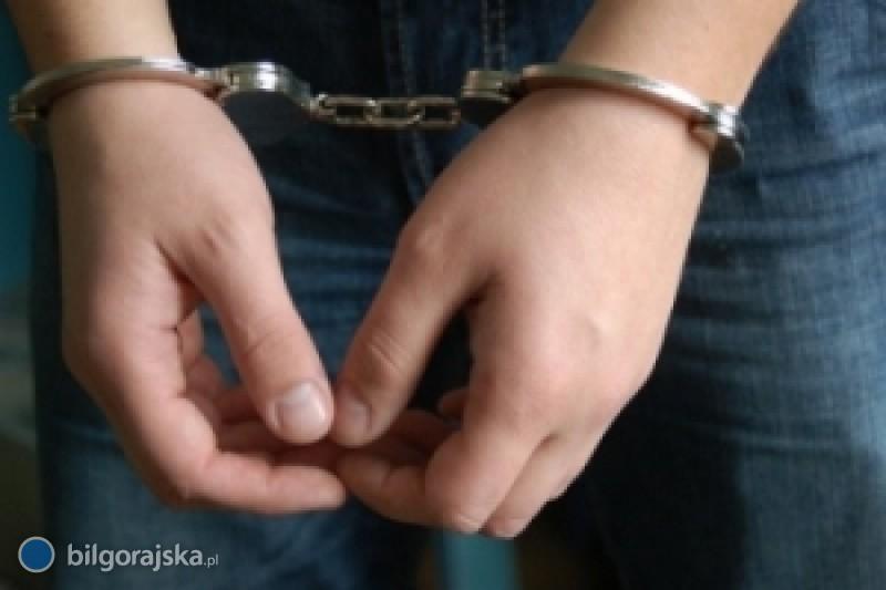 Aresztowany za pobicie ojca