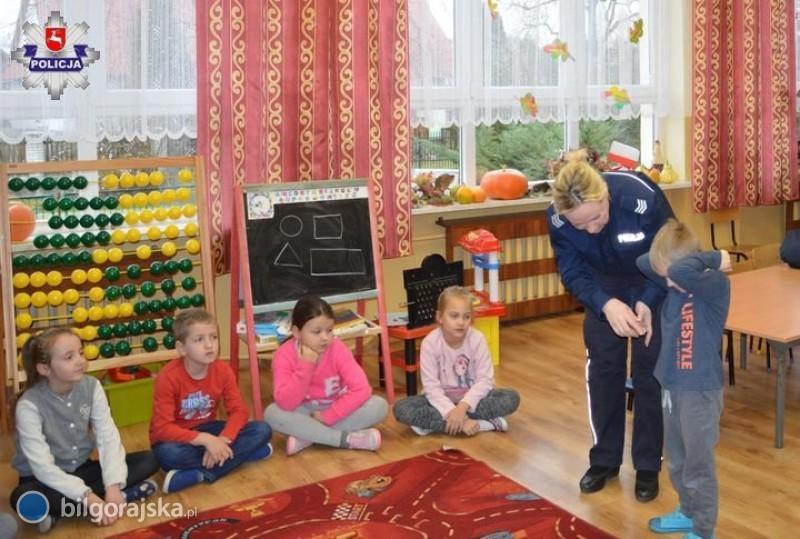 Policjanci odwiedzili szkoły wCiosmach iBukowej