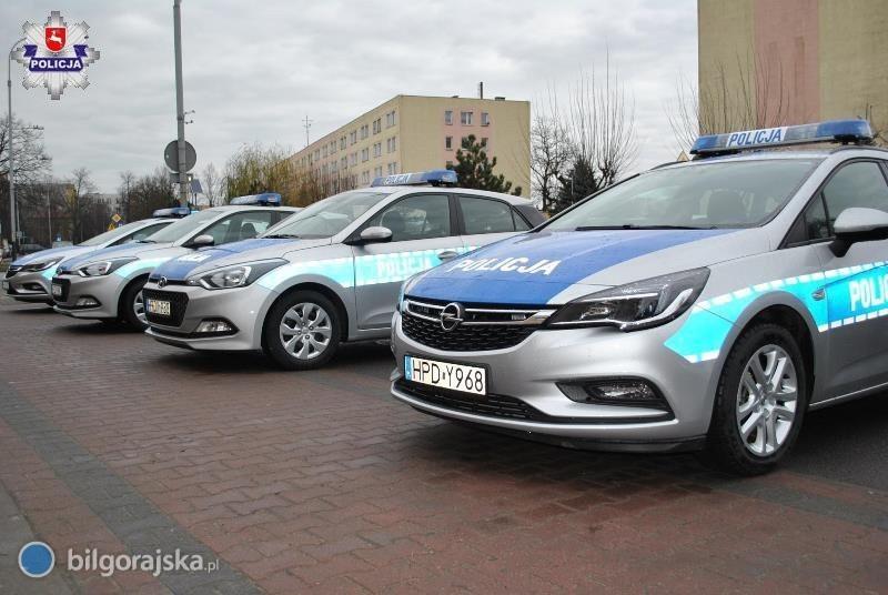 24 nowe radiowozy dla lubelskiej policji