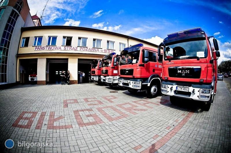 Prawie 300 pożarów w2017 r.