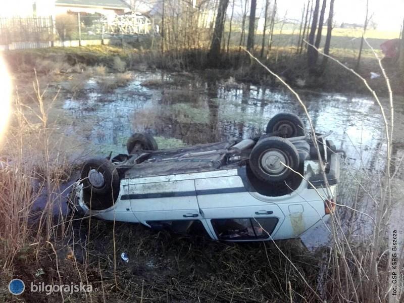 Auto dachowało wBukowinie