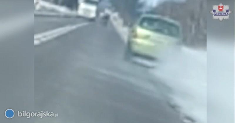 Zareagowali widząc nietrzeźwego kierowcę na drodze