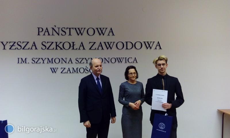 Damian Chołyst zwycięzcą VIII Konkursu Języka Angielskiego