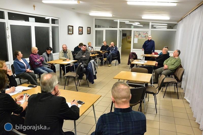 Zebranie rady osiedla Bojary