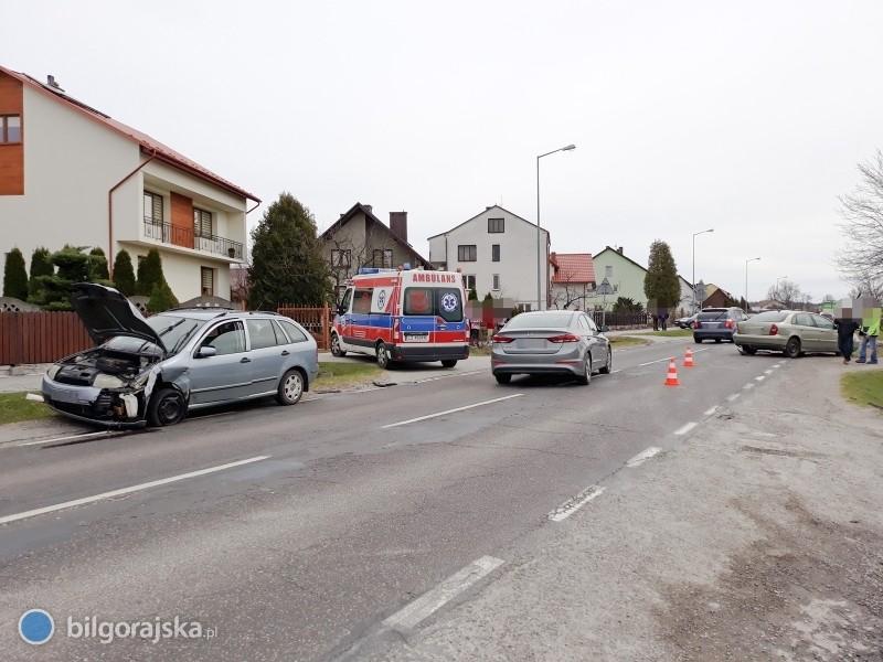 Zderzenie trzech pojazdów wKorczowie [AKTUALIZACJA]