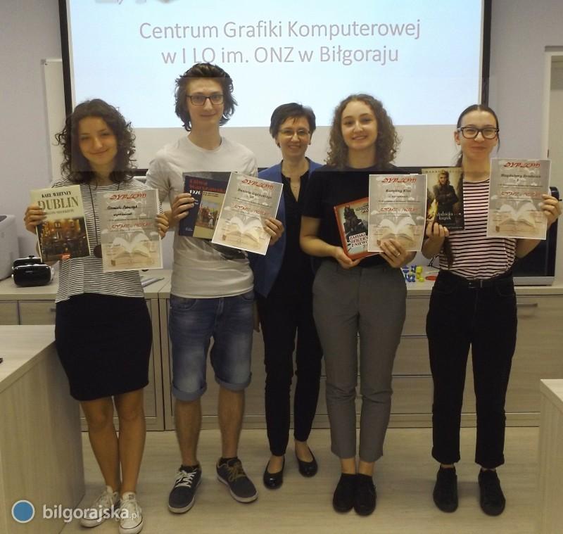 Młodzi graficy zBiłgoraja najlepsi wwojewódzkim konkursie promującym czytelnictwo