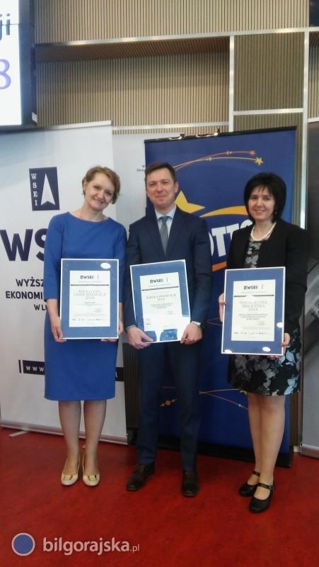 Trzy certyfikaty dla ZSZiO
