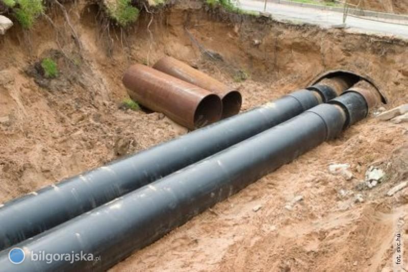 Gminna sieć kanalizacyjna coraz dłuższa