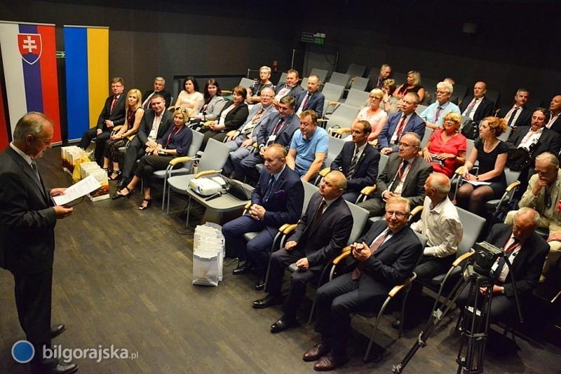 Przyjaźń bez granic - konferencja miast partnerskich wBiłgoraju