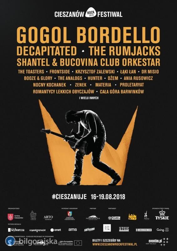 Cieszanów Rock Festiwal już wtym tygodniu