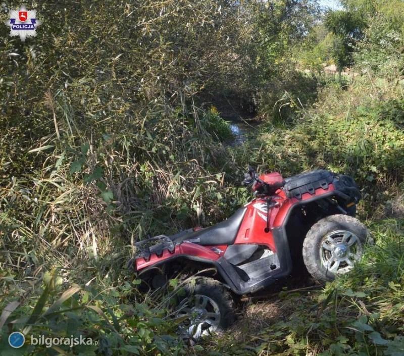 Tragiczny wypadek quada. Dwie osoby nie żyją [AKTUALIZACJA]