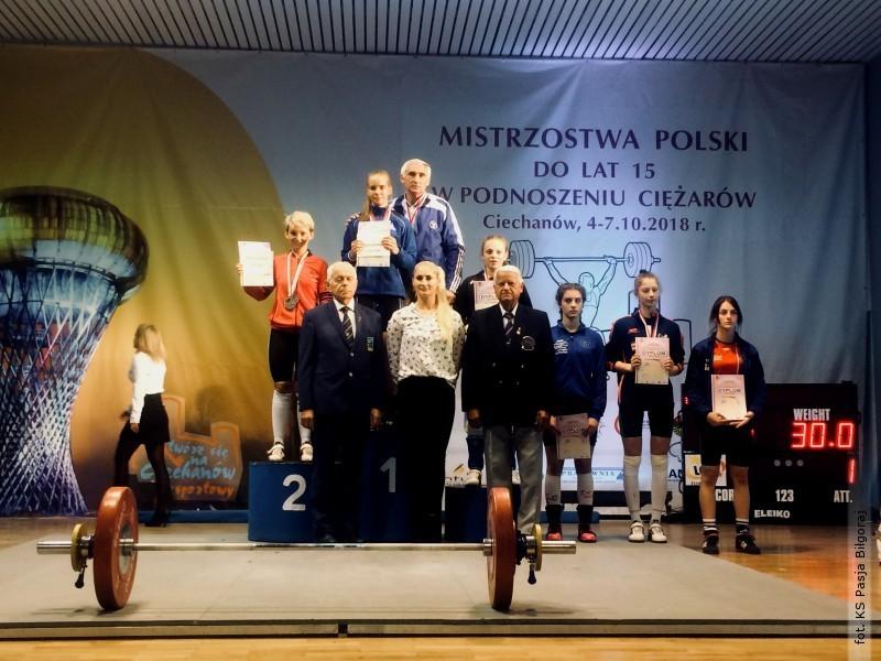 Milena Pawlos Wicemistrzynią Polski do lat 15!