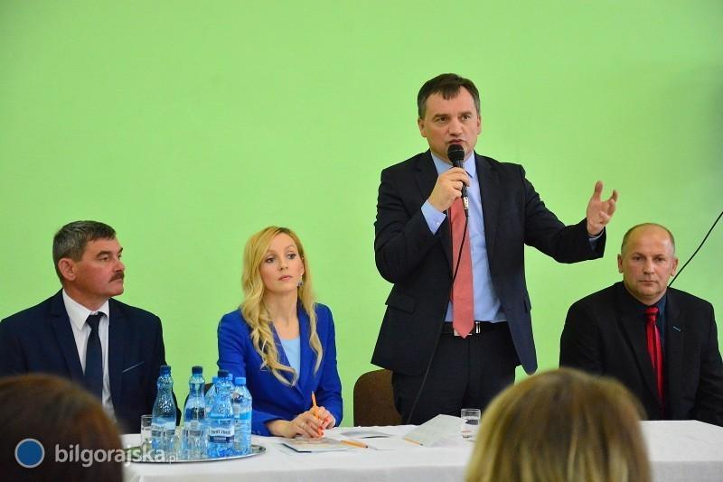 Zbigniew Ziobro wBiłgoraju