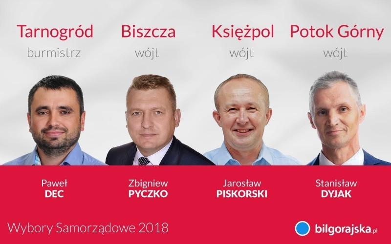 Po II turze wyborów - zmiany w3 gminach