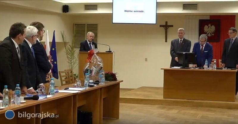 Michał Dec pożegnał się ze stanowiskiem zastępcy burmistrza Biłgoraja