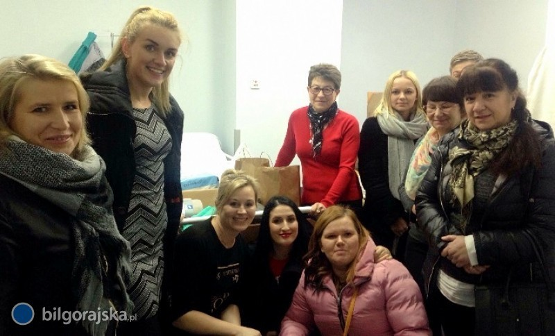 Przekazali dary dla tarnogrodzkiego szpitala