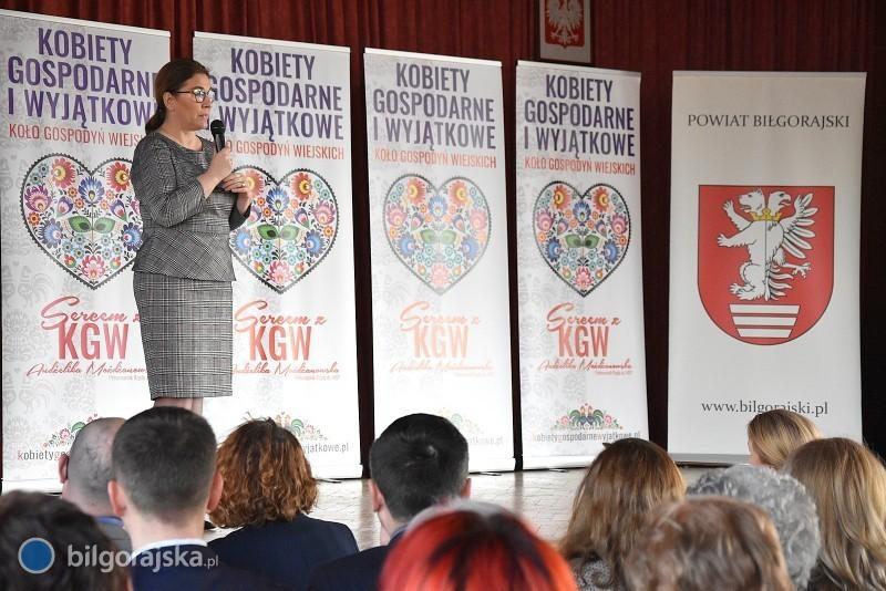 Beata Mazurek wBiłgoraju. Spotkanie zKGW