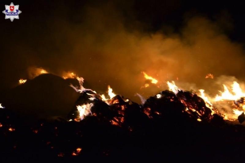 Ostrzegamy przed wypalaniem traw inieużytków rolnych