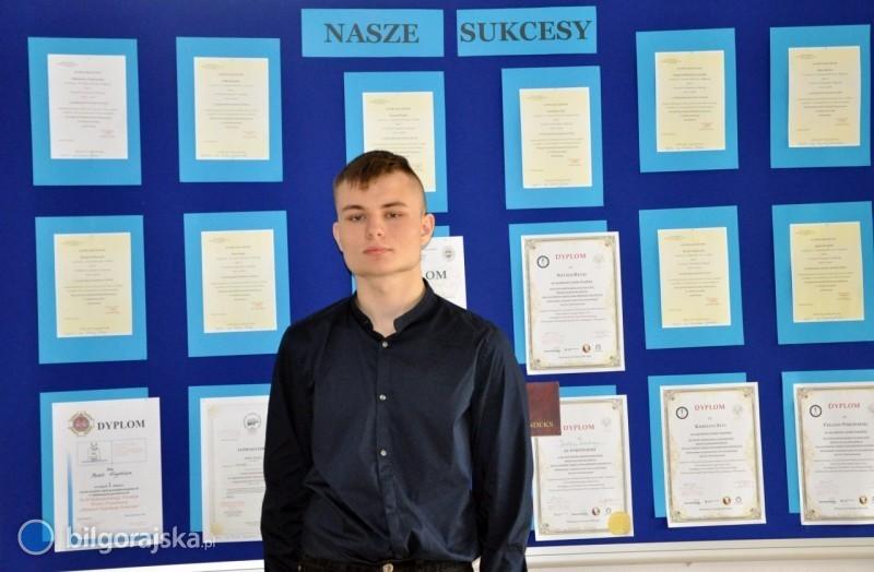 Uczeń LO im. ONZ finalistą ogólnopolskiej olimpiady przedmiotowej