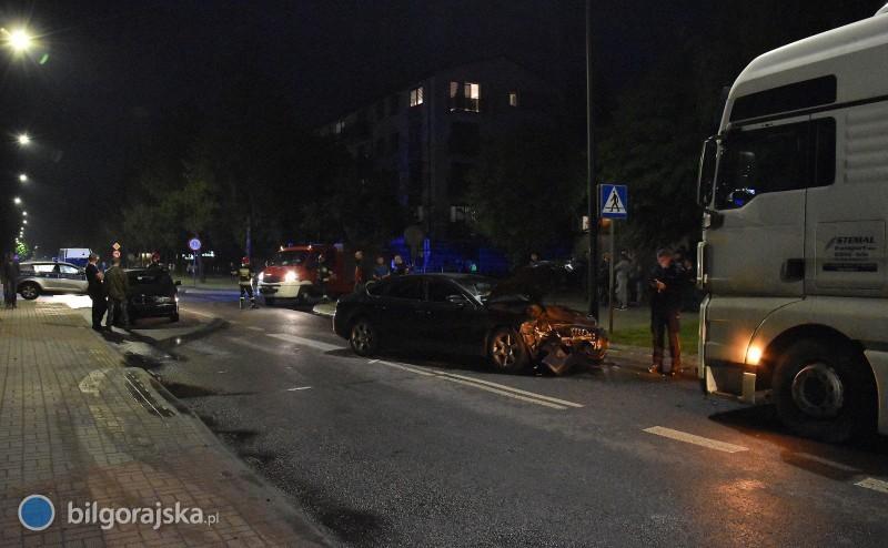 Wypadek na ul. Zamojskiej. Droga zablokowana [AKTUALIZACJA]