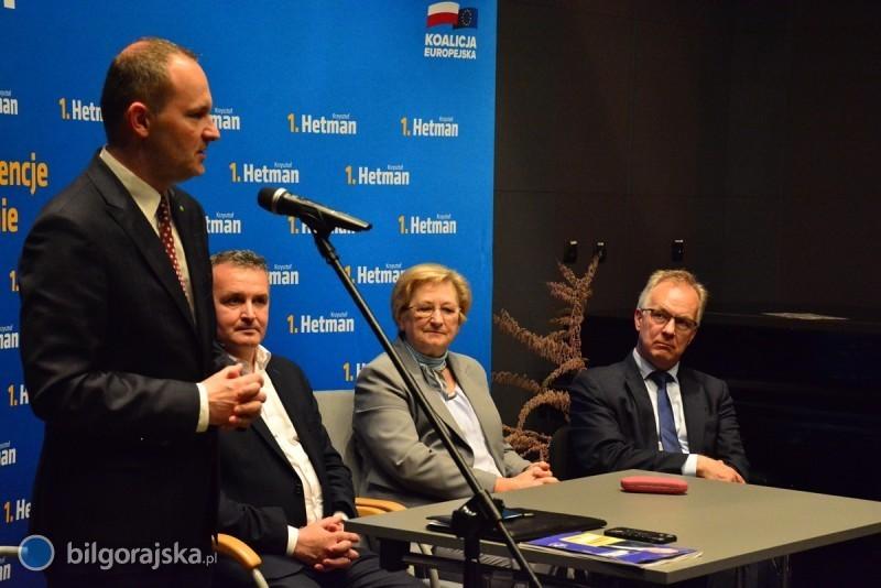 Krzysztof Hetman spotkał się zmieszkańcami powiatu
