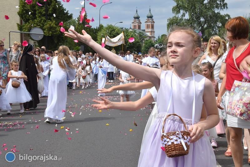 Procesje eucharystyczne przeszły ulicami Biłgoraja