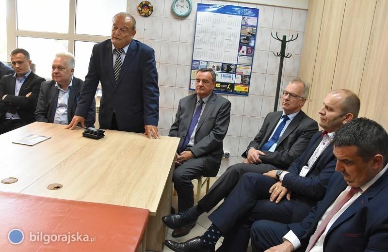 Riad Haidar gościł wBiłgoraju