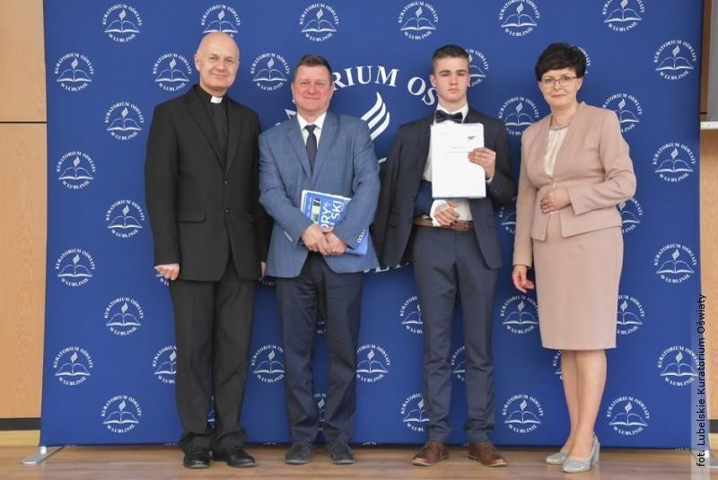 Lubelski Kurator Oświaty nagrodził laureatów konkursów